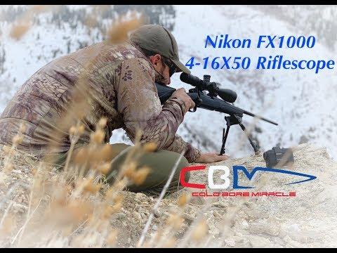 Nikon FX1000 4-16X50 Riflescope