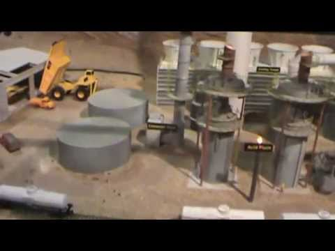 Open Pit Mine Diorama Video