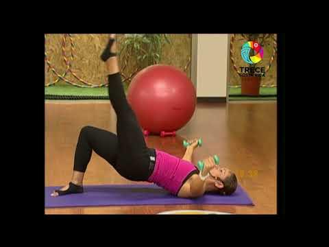 PROMUÉVETE - Pilates con pesas en el suelo con Ailing Marín