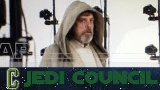 Jedi Council - First Look at Luke Skywalker In Star Wars: The Force Awakens