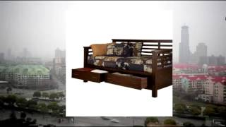 Home Styles Cabin Creek Storage Daybed