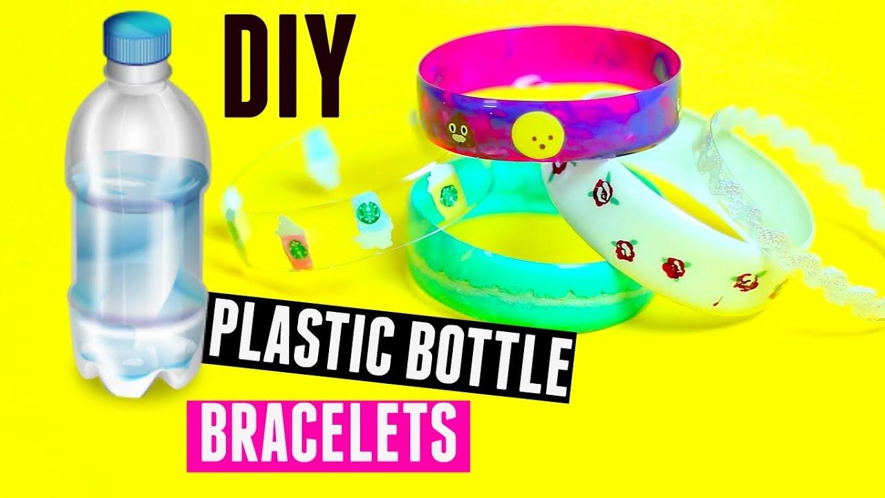 Diy Bracelets Out Of Plastic Bottles Recycling Plastic