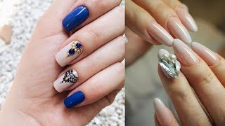 New Nail Art Designs Thin lines✔The Best Nail Art Tutorial Compilation #3