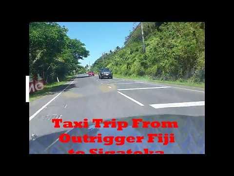 Fiji -Outrigger to Sigatoka by taxi
