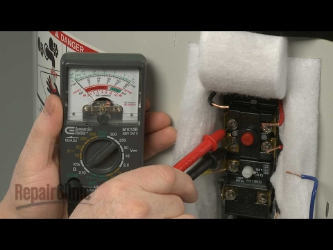 Water Heater Not Heating? Thermostat Testing - YouTube on