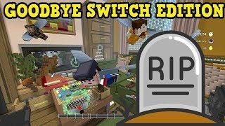 RIP Minecraft Switch Edition - LAST EVER MINIGAMES