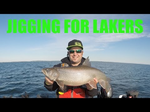 How To: Find A HOT Jigging Lake Trout Bite On Cold Lake
