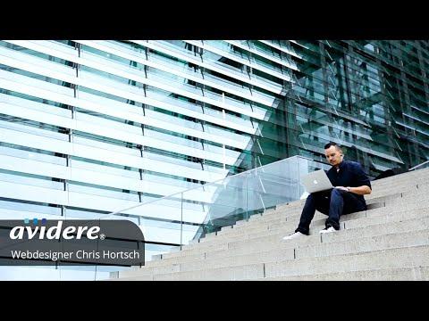 Imagefilm für Webdesigner Chris Hortsch – Webdesign aus ansprechenden Perspektiven dargestellt