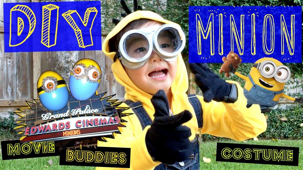 How to Make a Minion Costume - DIY Cute best Halloween costume - Pierceu0027sWorld - YouTube & How to Make a Minion Costume - DIY Cute best Halloween costume ...