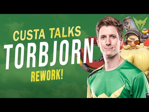 HOW TO PLAY NEW TORBJORN WITH AN OVERWATCH PRO | LA VALIANT CUSTA (Patch 1.29.0.1)