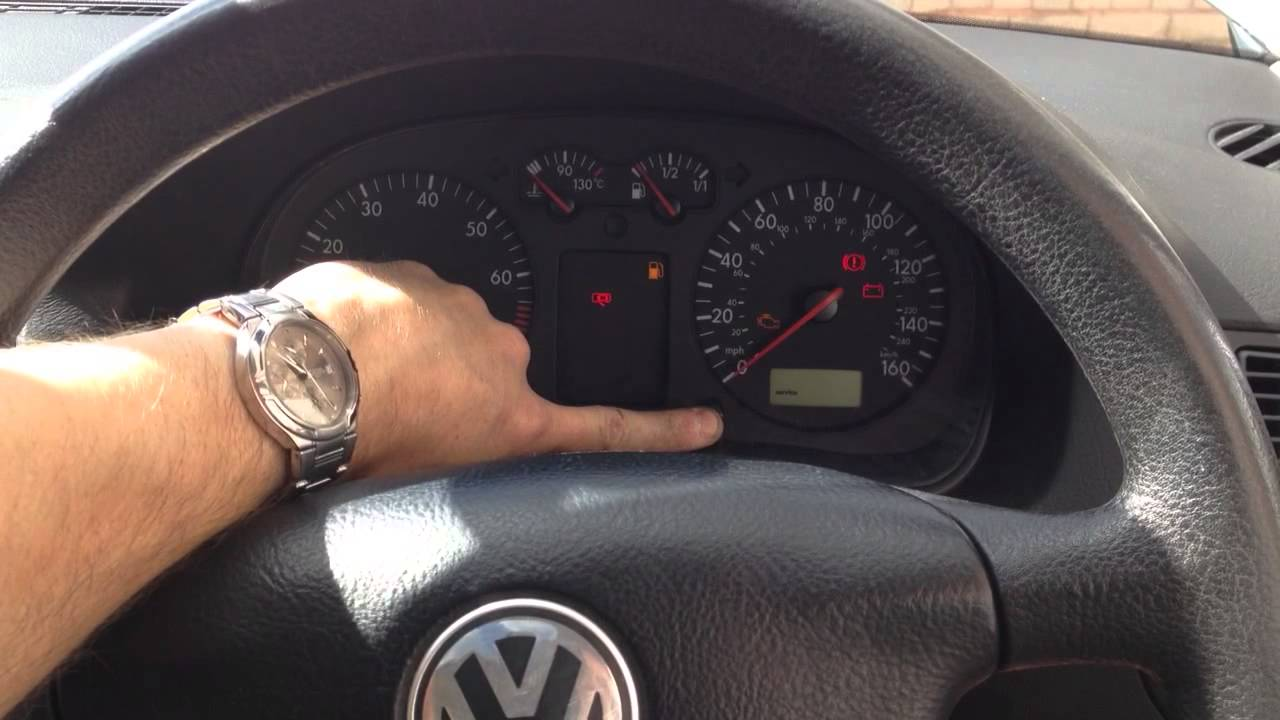 vw golf mk4 how to remove service reminder on dash digital display youtube. Black Bedroom Furniture Sets. Home Design Ideas