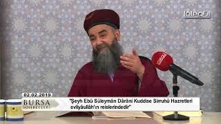 Cübbeli Ahmet Hocaefendi ile Bursa Sohbeti 2 Şubat 2019