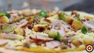 The Christmas Pizza by Buca di pizza