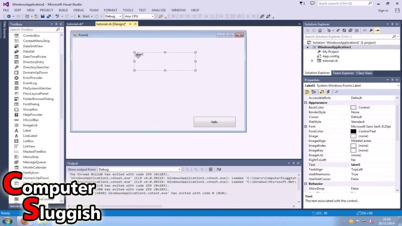 Visual basic tutorial for beginners pdf
