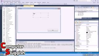 Visual Basic 2013 Tutorial For Beginners Part #2 - Basic Form Control (Label & Groupbox)