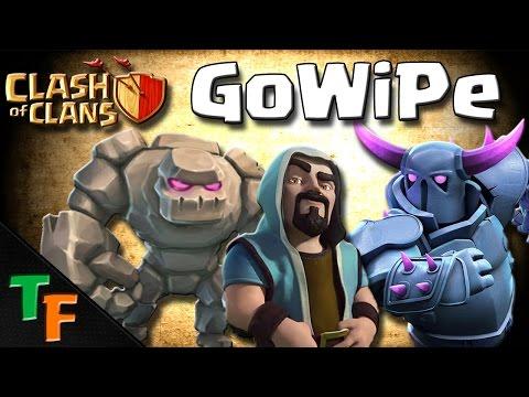 COME ATTACCARE CON LA GOWIPE- Clash Of Clans ITA