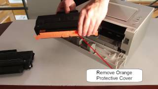 How to change Toner Cartridge Samsung MLTD103S in Samsung ML2955DW