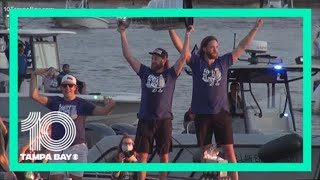 Tampa Bay Lightning Stanley Cup victory boat parade