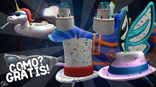 ROBLOX'S BIRTHDAY! HOW YOU EARN 6 FREE ITEMS