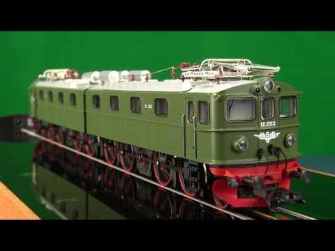 Trix 22274 HO Norwegian Heavy Ore locomotive Class El 12. Trix Model Trains