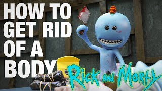 How to Get Rid of a Body  Meeseeks vs Meeseeks, from Rick and Morty
