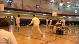 Dan Cantillon Fencing 2003 bout1.avi