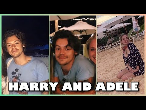 Did Adele and Harry Styles Take a Little Beach Trip Together?