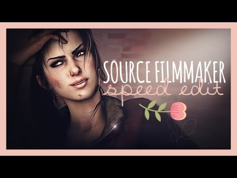 [SFM] Left 4 Dead - Zoey ♡ Speed Editing (Source Filmmaker & Photoshop CS6)