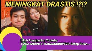 Download Meningkat Drastis !?!? Penghasilan Youtube TIARA ANDINI & TiaraAndiniVevo Setiap Bulan