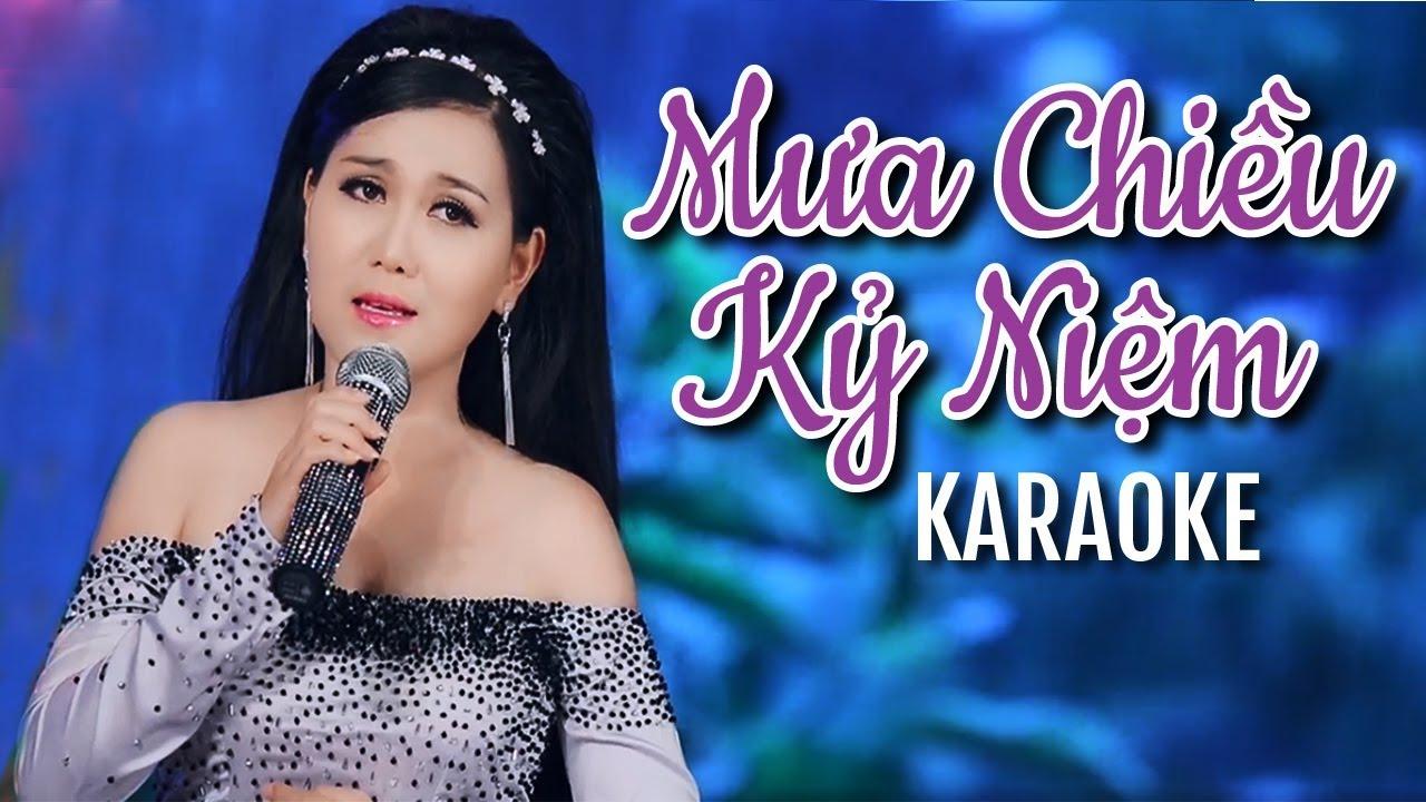 Mưa Chiều Kỷ Niệm Karaoke - Lê Như