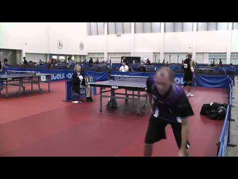 2012 US Open Sandpaper Table Tennis Finals - Hoff vs Maropis