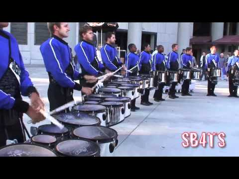 2010 Blue Devils - Drum Break - July 4th Rose Bowl
