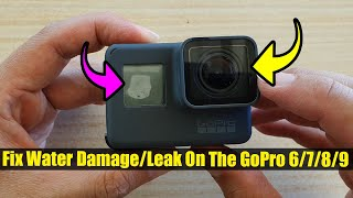 How to Fix Water Damage/Leak On The GoPro 6/7/8/9
