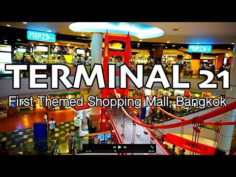 Terminal 21 - Must Visit Shopping Mall in Bangkok