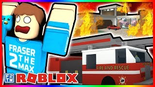 Fire Engine 🚒 to the Rescue in Roblox Ultimate Driving