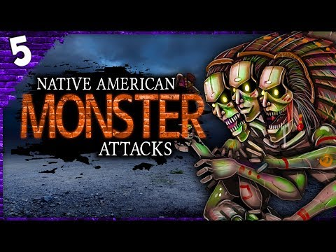 5 REAL Native American Monster ATTACKS! | Darkness Prevails