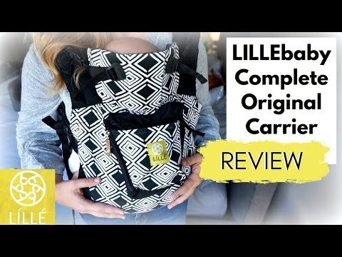 """LILLEbaby Complete Original Baby Carrier Review 
