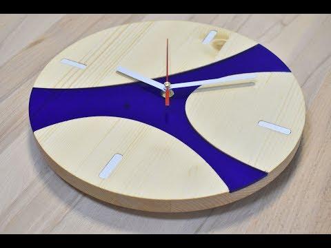 Wood clock DIY - First job on DIY CNC router