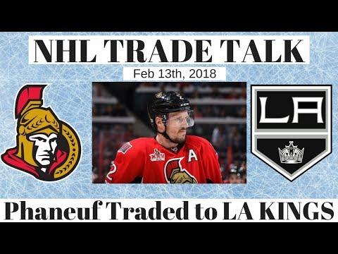 NHL Trade Talk - Senators Trade Phaneuf to LA Kings