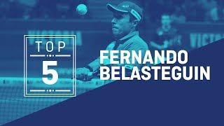 #Top5 Puntazos Fernando Belasteguín 2019 - World Padel Tour