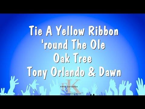 Tie A Yellow Ribbon 'round The Ole Oak Tree - Tony Orlando & Dawn (Karaoke Version)