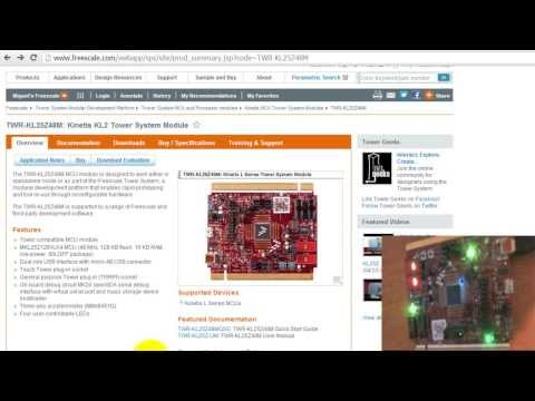 MQX Lite RTOS Tutorial for TWR KL25Z48M Kit - Blink the LEDs