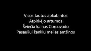 PJD RIO 2013 himnas LT