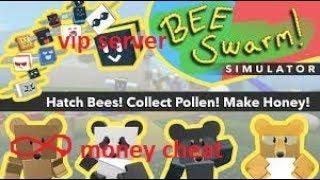 roblox bee swarm simulator infinity money cheat + vip server