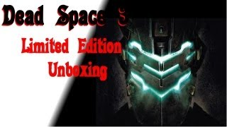 Dead Space 3 Limited Edition Unboxing Xbox 360
