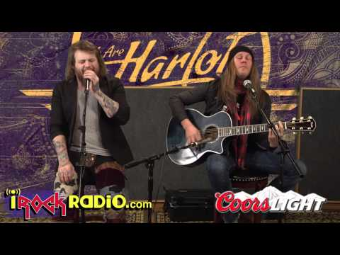iRockRadio.com - We Are Harlot - Acoustic - Denial
