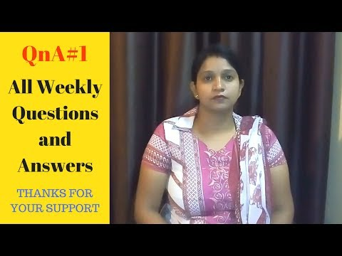 QnA#1 - All Weekly Questions and Answers on Canada Immigration 2017