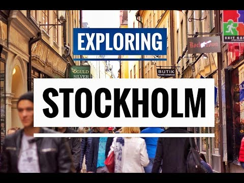 SWEDEN, STOCKHOLM - EUROPE travel VLOG | EXPLORING STOCKHOLM CITY