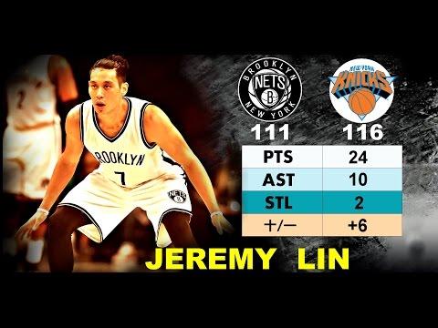 Jeremy Lin 林書豪─ 2016.10.20 Nets vs Knicks 2016 17 NBA Preseason