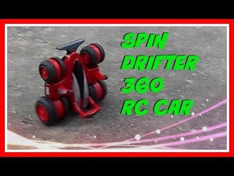 Spin Drifter 360 Sharper Image Remote Control Rc Car Demonstration